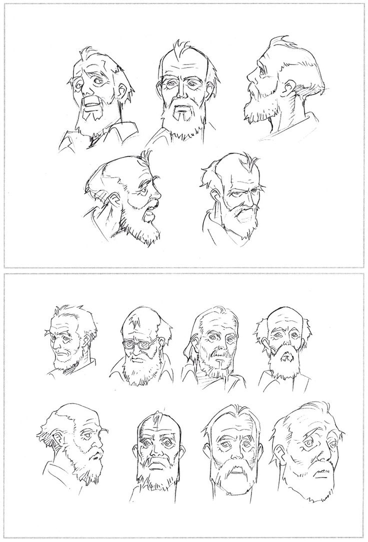 Head studies Seraphim - Satoshi Kon & Mamoru Oshii  ★ || CHARACTER DESIGN REFERENCES (https://www.facebook.com/CharacterDesignReferences & https://www.pinterest.com/characterdesigh) • Love Character Design? Join the #CDChallenge (link→ https://www.facebook.com/groups/CharacterDesignChallenge) Share your unique vision of a theme, promote your art in a community of over 40.000 artists! || ★