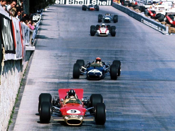 Graham Hill, 1968, Monaco Racing driver, Racing, Formula 1