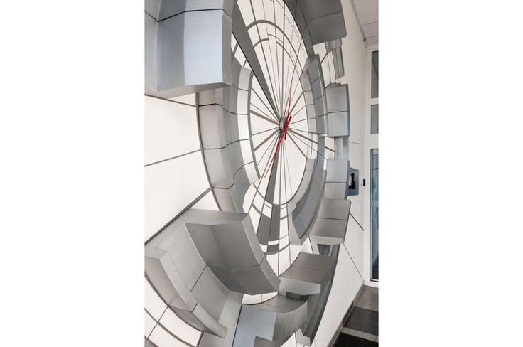 Arkon Ateliér - EMT company * the entrance hall in the engineering company EMT