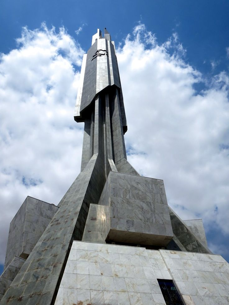 The soaring Memorial Dr. Antonio Agostinho Neto (2012) in Luanda holds the mausoleum of Angola's first president.