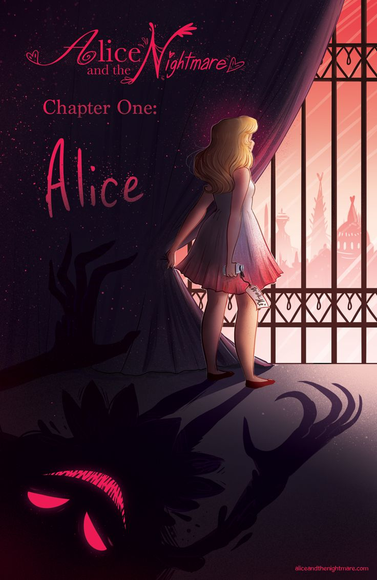 Alice and the Nightmare is an Alice-In-Wonderland-inspired story.  Alice Hart has been sheltered by Queen Rougina all her life, but that's about to change when she starts attending Phantasmagoria University, a school for training the Hearts, Spades, Clubs and Diamonds of the Looking Glass Territories to harvest dream energy from humans.  Story's still pretty new, but very lovely!  Read it at aliceandthenightmare.com!