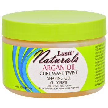 Lusti Naturals Argan Oil Curl Wave Twist