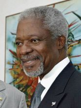 You cannot disassociate the situation in Iraq today from the US intervention in 2003. Annan
