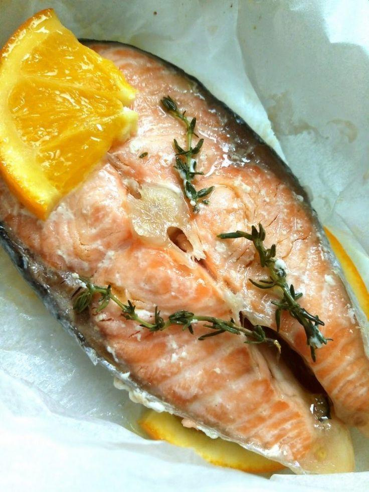 Il salmone come lo fai lo fai è sempre buono e, per giunta, pare faccia un gran bene alla salute. Cosa vuoi di più? - Zeudi Agricoltore (CucinoConPoco) - Google+