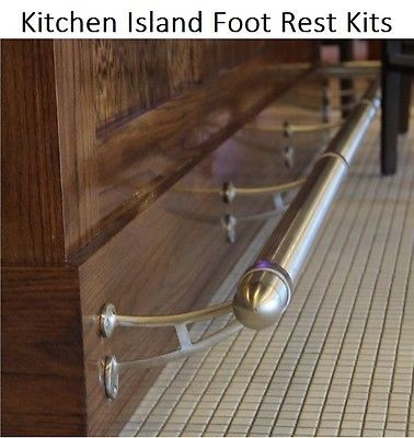 Best Kitchen Island Foot Rest Create Custom Kit 8 Finishes Feet 400 x 300