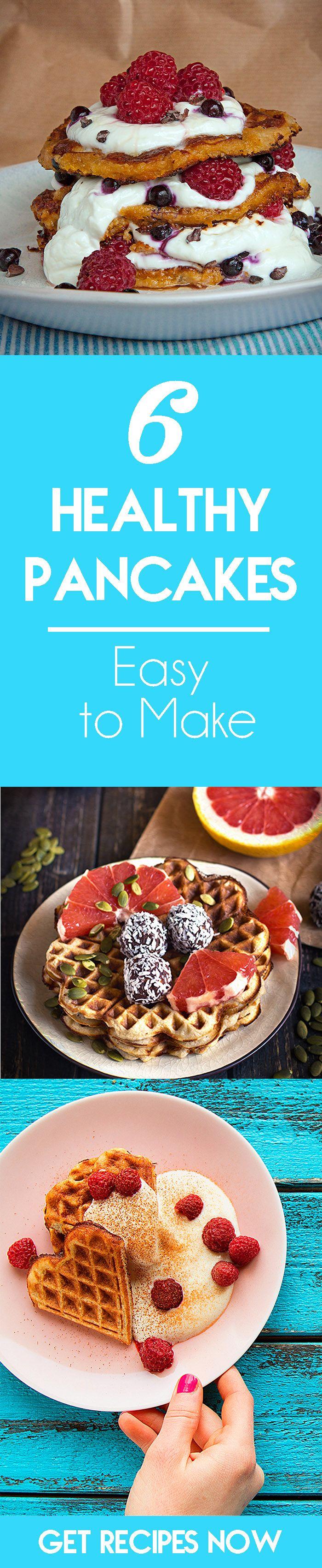 6 Pancake Recipes - Easy, Delicious & Healthy - HappyHealthyHunters