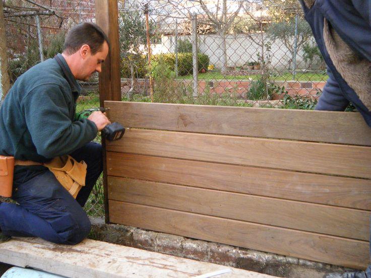 M s de 1000 ideas sobre vallas de jard n en pinterest for Jardines pequenos horizontales
