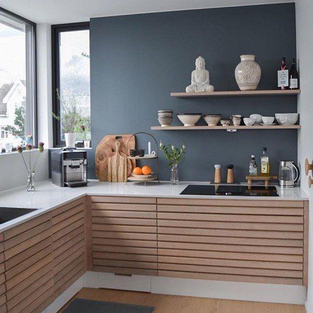 """158 Synes godt om, 6 kommentarer – Svane Køkkenet (@svanekokkenet) på Instagram: """"Dette flotte MASSIV køkken står hjemme hos @jannesko Janne har brugt #mitsvanekøkken som vi bruger…"""""""