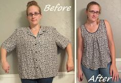 Transformation vieille chemise