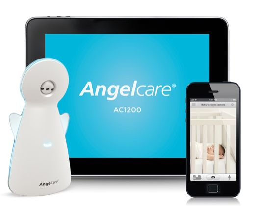 Meet The Angelcare AC1200 Video, Movement & Sound Monitor For Smartphones #Review #Angelcare #BabyMonitor