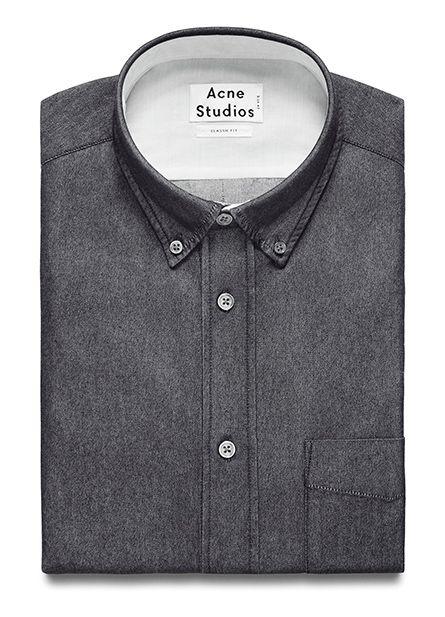 Isherwood black denim shirt / by Acne Studios
