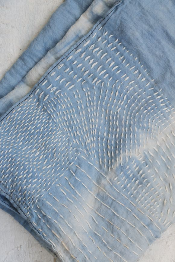 The Beauty Of Sashiko Stitching