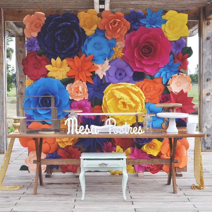 Mampara al puro estilo mexicano disponible for Decoracion 10 de mayo