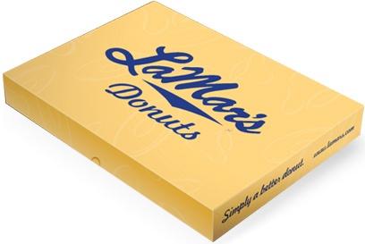 LaMar's Donuts:  a Kansas City institution, beats Krispy Creme hands down...