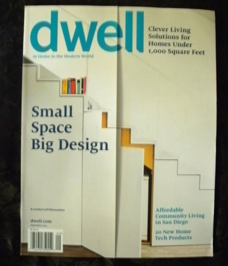 Dwell magazine september 2014 issue small space big design ebay listings for 2017 pinterest - Dwell small spaces image ...