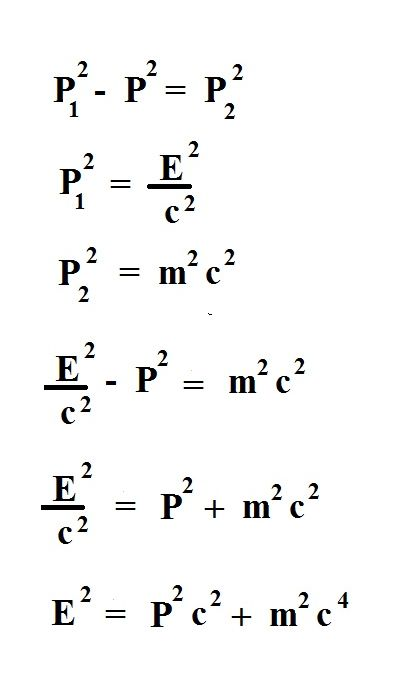 GM Jackson Physics and Mathematics: Deriving E=MC^2