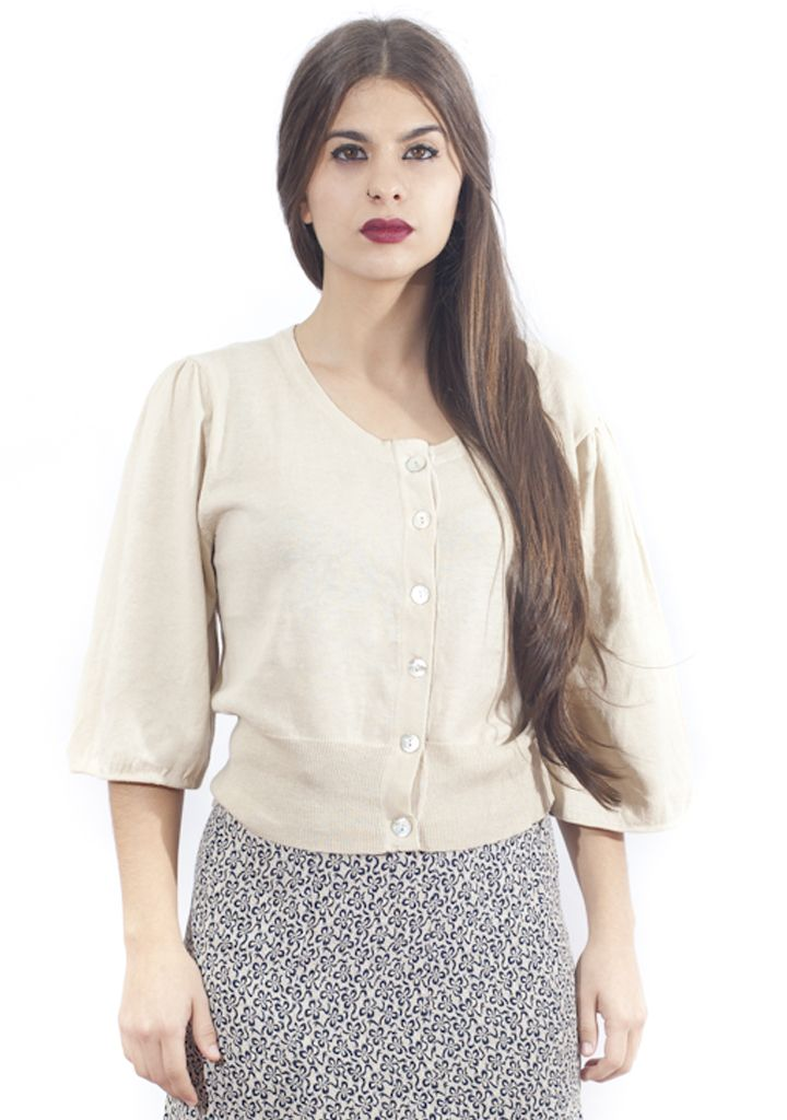 Vintage cream top. http://marlet-shop.com/collections/tops/products/vintage-cream-top