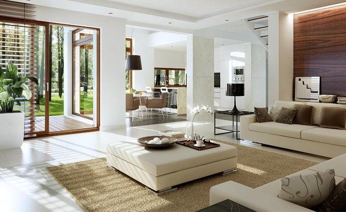 Stylowy 3 - wizualizacja 3 - Projekty domów z antresolą – Stylowy 3