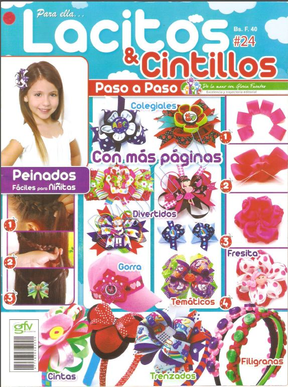 Revista Lacitos y cintillos No. 24