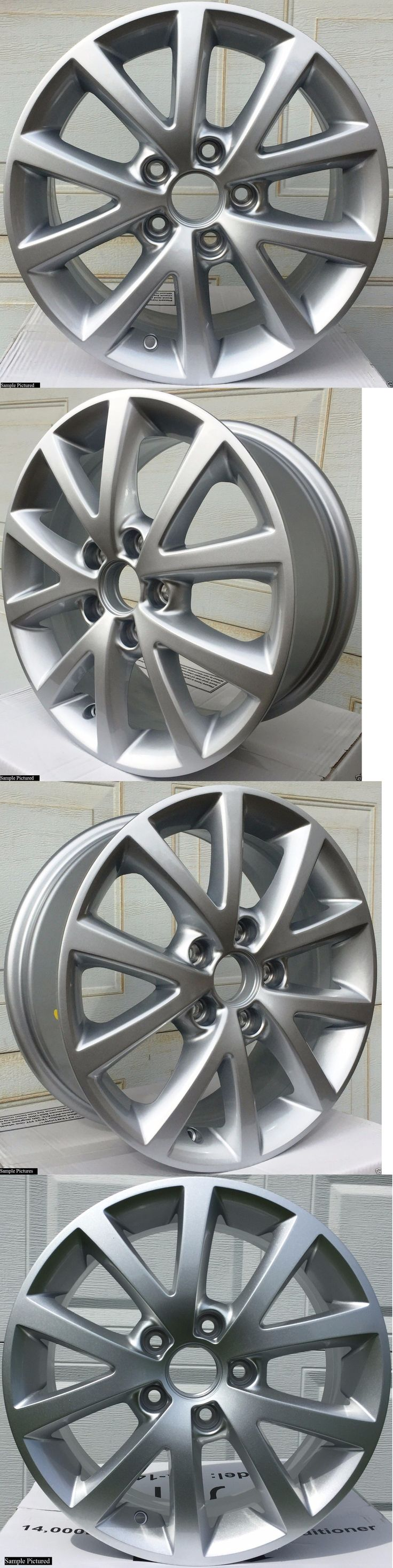 auto parts - general: 1 New 16 Wheel Rim For 2010 2011 2012 2013 2014 2015 Vw Volkswagen Jetta -143 -> BUY IT NOW ONLY: $74 on eBay!