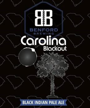 Benford Brewing, Lancaster, SC will release Carolina Blackout: a black IPA with refreshing tropical inspired hops. At 4.9% abv, our Black IPA will be enjoyed by all IPA fans on our South Carolina hot and humid, late summer days. We have begun to pre-sale this beer to all restaurants, bars, and package stores to encourage their own events with this celebratory brand.