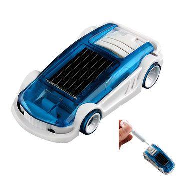 New Solar Salt Water Hybrid Car Solar Power Toy for Children Gift