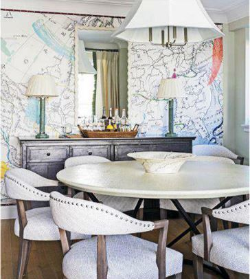 The Jeffrey Alan Marks by PALECEK Menlo Chair in a beautiful Manhattan  dining room featured in47 best PALECEK   Installations images on Pinterest   Restaurant  . Palecek Dining Chairs. Home Design Ideas