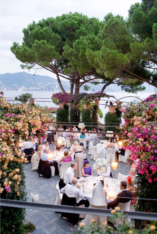 Portofino Wedding by Corbin Gurkin | Style Me Pretty