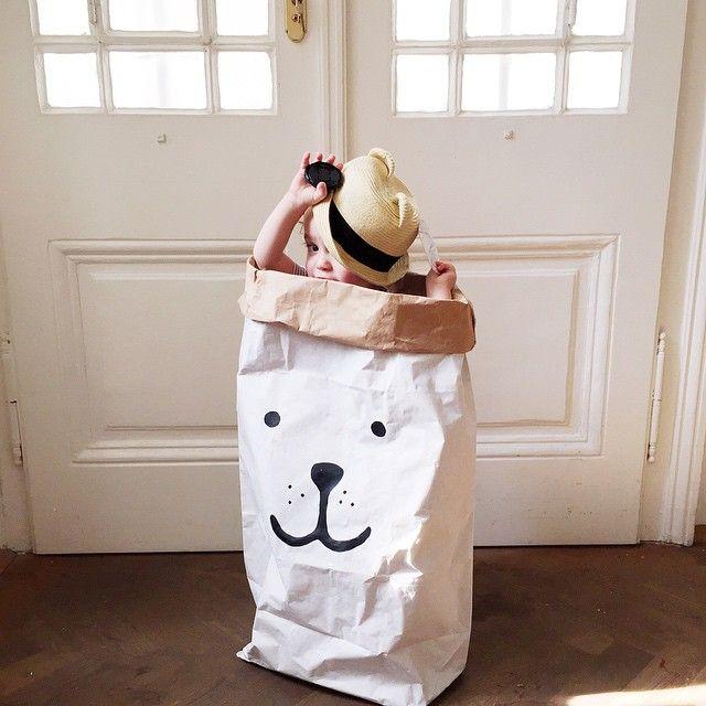 #tellkiddo #kids #deco #paperbag masalladelrosaoazul.com