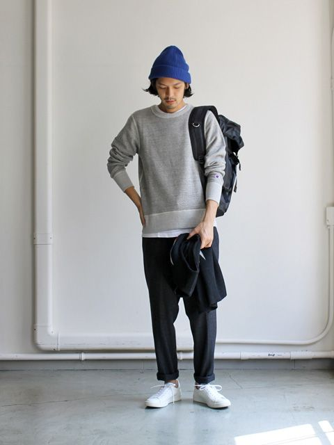 Champion×nanamica Crew Neck Sweat