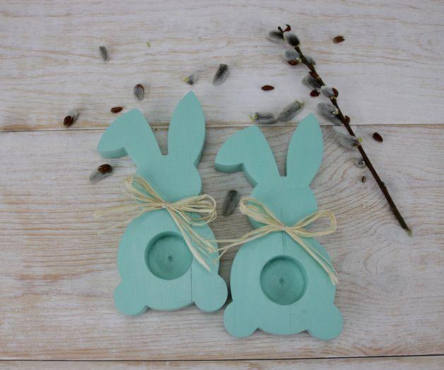 Bunny - Mint - Madame-Binier - Kieliszki do jajek