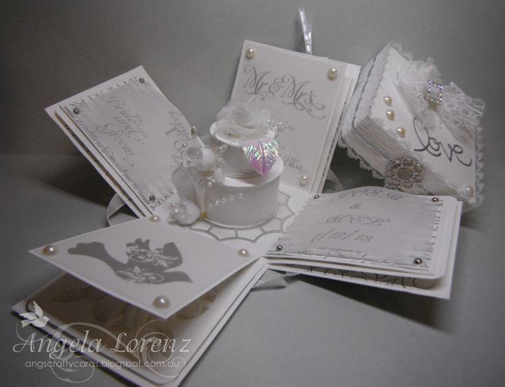 Wedding Exploding Box Card Exploding Box Cards