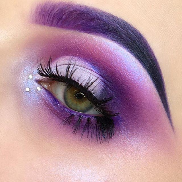 my fav colour 💜💜 using: #sugarpill poison plum shadow • #katvond purple shade from alchemist palette • #nyxcosmetics_uk liquid suede lipstick in amethyst for brows • #eldorafalseeyelashes in H174 • #kiko super colour eyeliner in 109 • #eyeko lash alert mascara • #maybelline fit me foundation in 105 • #maccosmetics select cover up • #sugarpillcosmetics #kvdlook #kvdbeauty #katvondbeauty #alchemistpalette #nyx #nyxcosmetics #kikomilano #maccosmeticsuk #motd #beautyblogger #bbdaretoshare