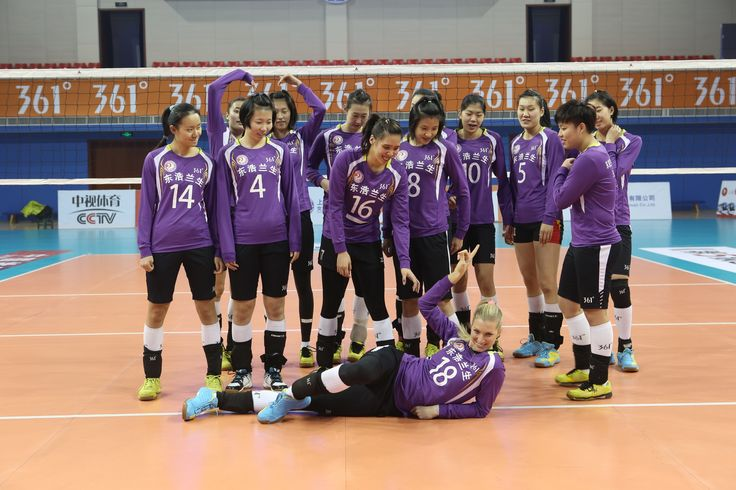 EBLS @ 2014-2015 Chinese Women's Volleyball League