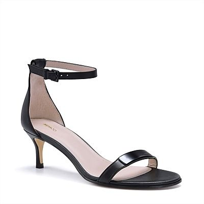 Accessory minimalism at its best. The It Takes Two Heel #mimcospringracing