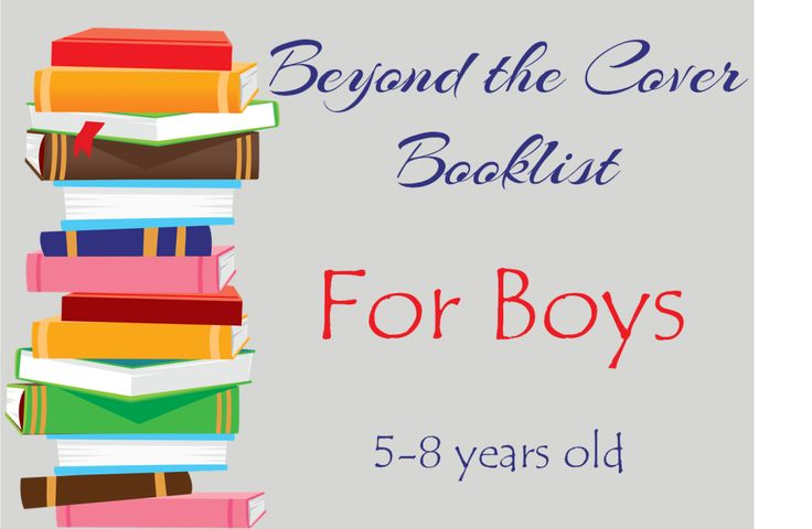 booklist for boys, aged 5-8