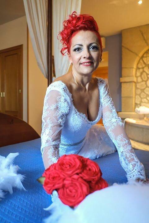 ramo de novia de tela