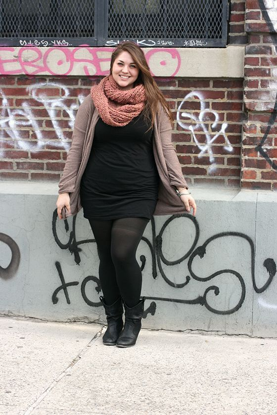 unrelated to the article- just like this outfit and have all the pieces :) teal or gray scarf instead of pink