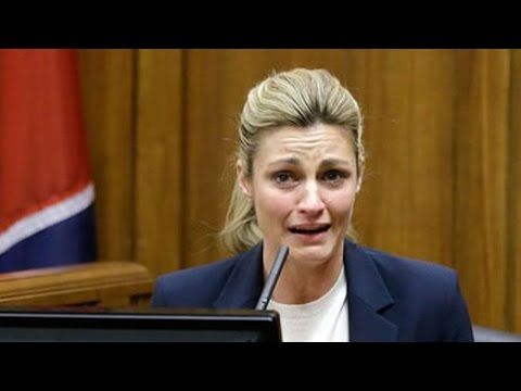 Erin Andrews Says ESPN Forced Her To Relive Peephole Video - YouTube