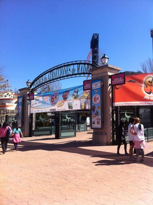 Parque de Atracciones de Madrid en Madrid, Madrid