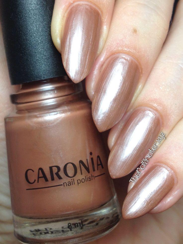 The Nailinator - Caronia Rainbow Tan Swatch