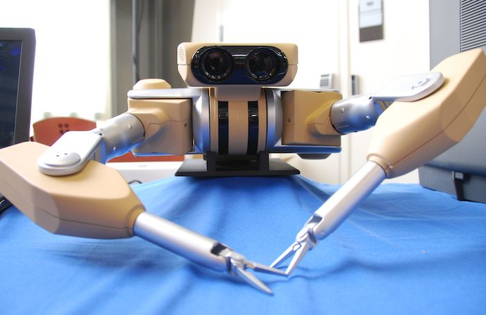 The two companies partnered to create a robotics-focused surgical startup