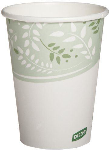 Dixie 2342PLA EcoSmart Viridian PLA Paper Hot Cup, 12 oz Capacity (20 Packs of 50) by Georgia-Pacific. $136.85. Designed to heat up your beverage sales, the Dixie Paper hot cup is the foundation of our cup portfolio. Dixie paper hot cups provide an upscale image at an economical cost for specialty hot beverages and EcoSmart products are designed to allow operators to enhance their environmental stewardship position. EcoSmart Viridian color. Case of 20 sleeves, 50 cups per ...