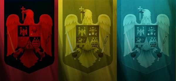 Redesigning the Romanian coat of arms