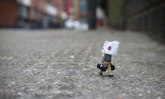 Slinkachu e o projeto Little People