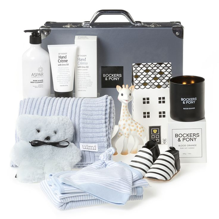 Splendid Baby Boy Luxury Gift Hamper | Luxury Baby Gifts & Hampers | Bockers and Pony