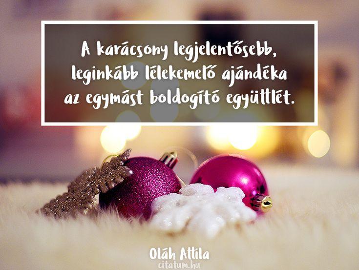Oláh Attila #idézet #karácsony