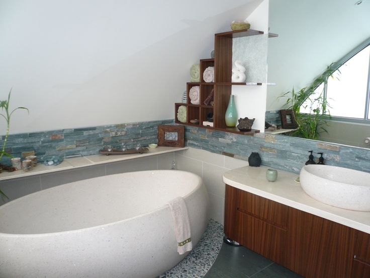 Affordable Zen Bathroom Ideas Idea I LOVE THIS COLOR TILE