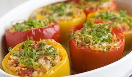 Фаршированный перец рецепт - hakklihaga paprika