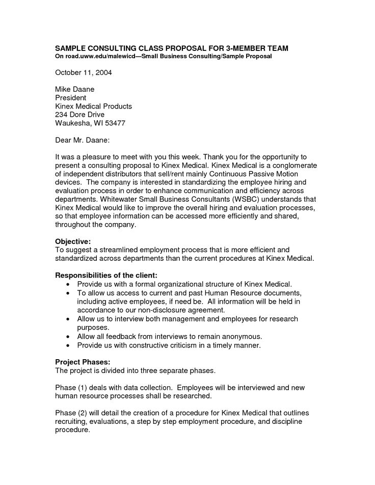 10 best Stuff images on Pinterest Formal resignation letter - business consulting proposal template